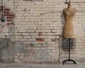 Vintage Industrial 1940's Dress Form