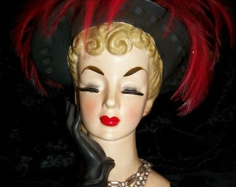 Head Vase by Napcoware Signed & Numbered