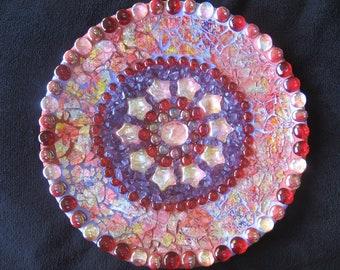 Madonna's Heart Mosaic