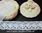 Cotton 1 1/2 inch White Lace