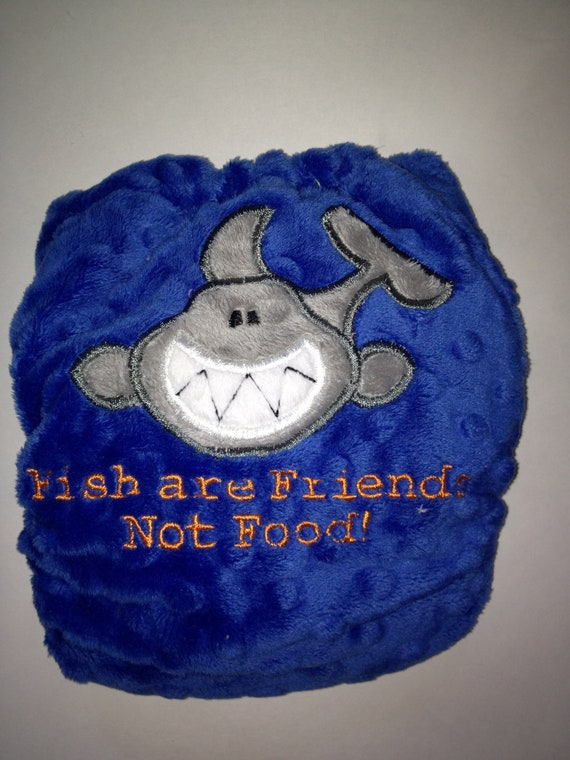 Fish are friends not food os cover by ebberdeeber on etsy for Fish are friends not food