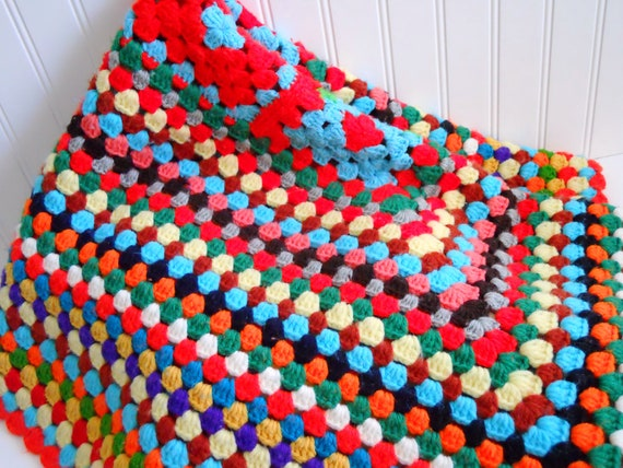 Wrap Your Self In Granny's Home-Made Lap Throw