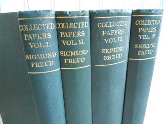 list of essays by sigmund freud