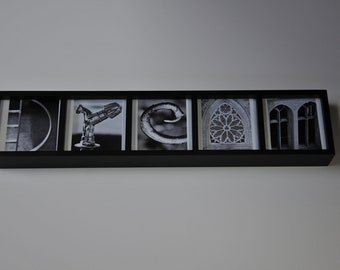 custom made ALPHABET photo letter art (digital copy)