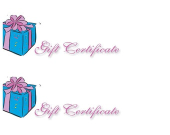 Gift Certificate to FishCreek - 20 Dollars Off Any Purchase