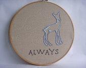 Custom Made Potter Pattern Hoop