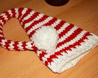 Long tail baby elf newborn hat