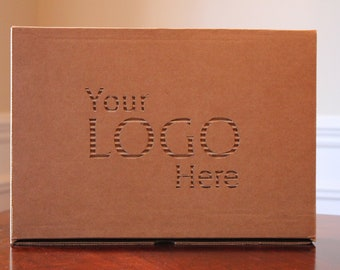 Custom Design on Cardboard Box - contact for quote