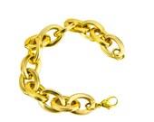 Oval Link Gold Bracelet