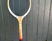 SALE: Vintage Dunlop Fort Maxply Wood Tennis Racquet