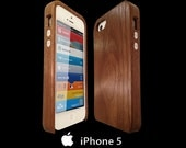 Wood Case iPhone 5s walnut