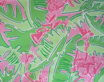 Musical Monkeys cotton poplin  18 X 22  inches  ~LillyPulitzer~