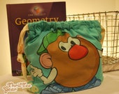 Mr Potato Head Perfect Guy ThrifTee Gear Reusable Lunch Bag, Wet Bag, Anything Bag Free Shipping