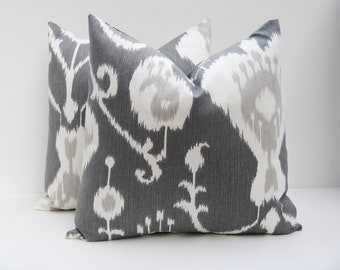 Decorative Throw Pillow Covers Accent Pillow Toss Pillow 16x16 Pillow cover Cushion covers cm Gray Pillow Home Decor Grey pillow cover