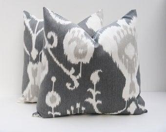 Decorative Pillow Covers,Gray pillow, Grey Pillow cover  Accent Pillow Toss Pillow 16x16 Pillow cover Cushion , Pillows,, Throw Pillow