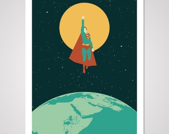 Smallville - 18x24 Art Print