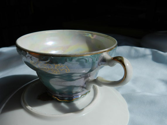 Vintage, Nasco Product Made in Japan, Del Coronado China Tea Cup and Saucer