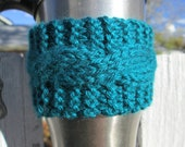 Buy 2, Get 1 Free - Made to Order Cabled Cup Cozies
