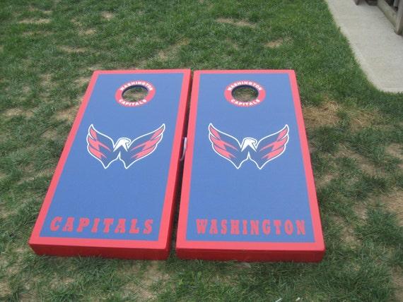 Items Similar To Washington Capitals Cornhole Boards And