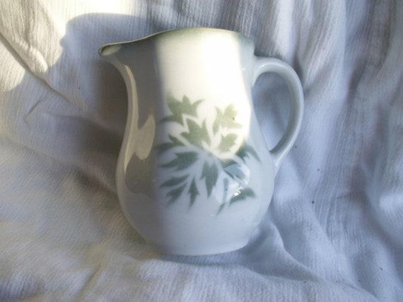 Reserved SALE Vintage Arabia of Finland Stencil Ware Creamer - Lighter Stencil Image