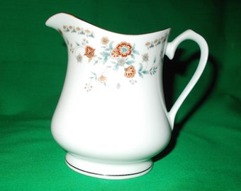 One (1), 8 oz. Porcelain Creamer, from China Pearl, in the Josephine 1476 Pattern.