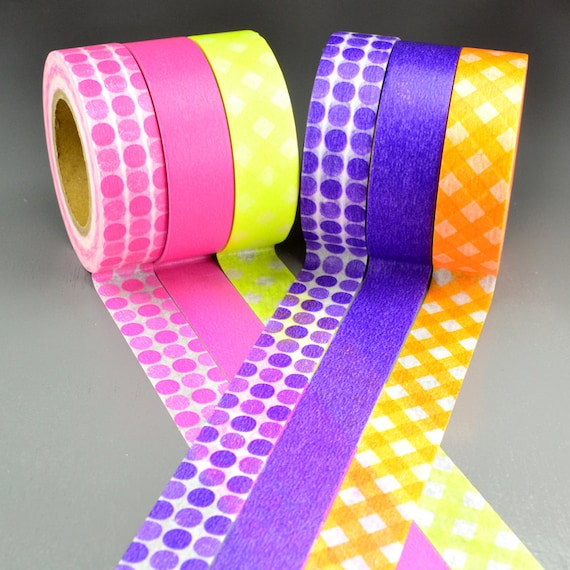 Candy Colored Washi Tape