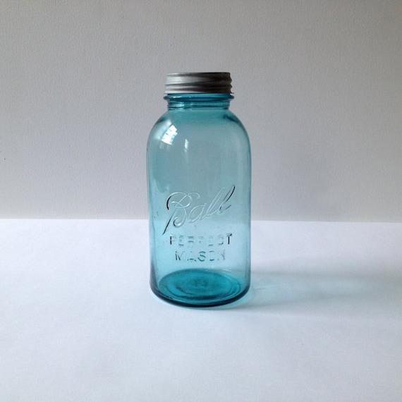 Half Gallon Blue Ball Perfect Mason Jar
