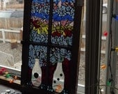 Mosaic Window Vases and Flowers - PiecesofhomeMosaics
