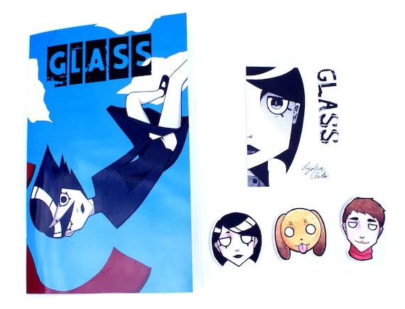 Comic Book  - Glass Pack