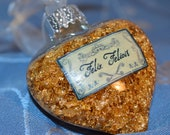 HP Felix Felicis POTION ornaments - Real Gold Flake. Inspired by the Wizarding World.  BEAUTIFUL & Unique.