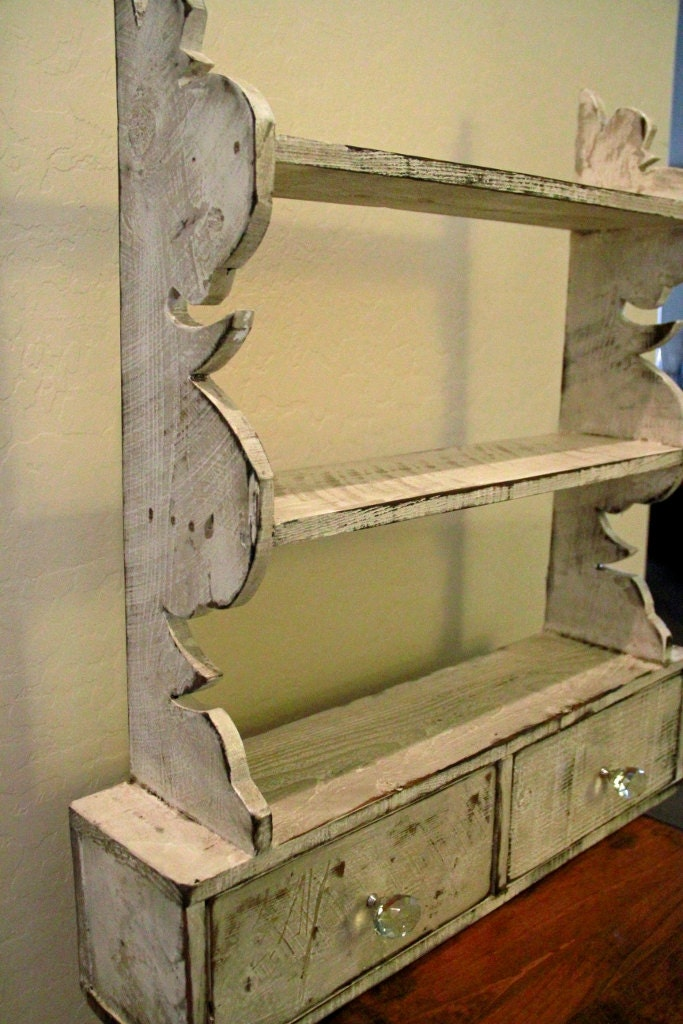 French Country Wall Shelf Cottage Chic Wall By