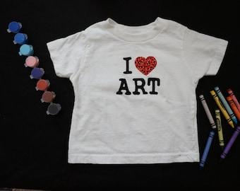 I Love Art Tee