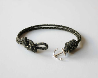 Knots N Anchor Bracelet - Green