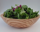 Wooden Bowl Coffeetree Bowl Salad Bowl Handturned Fruit Bowl Wood Bowl - mcarroll5