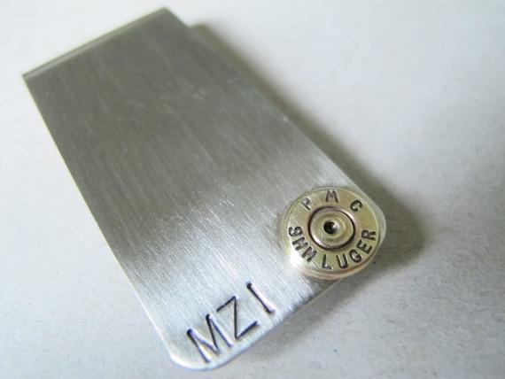 Bullet Money Clip - Personalized