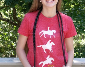 Eventing Tee horse graphic shirt