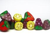 SALE: -Leftover Fruit Mashup- pick any 2 earrings for only 3.50