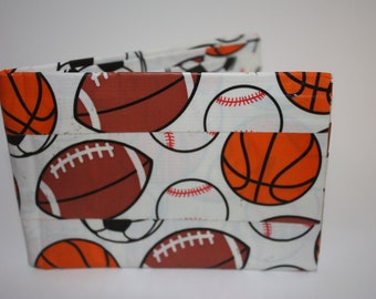 Sports Balls Duct Tape Wallet