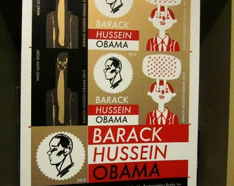 Barack Hussein Obama Uncut Production Sheet