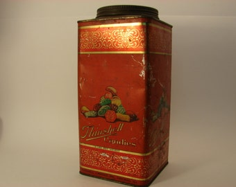 Antique Thinshell Candy Tin