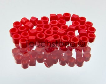 11/0 Delica Seed Beads Red Opaque Matte 7.2 Grams DB791 #45-113791