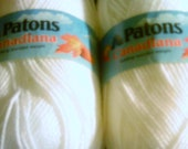 4 Skeins Paton Canadian Acrylic