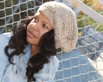 Classic Slouch Hat in Oatmeal