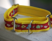 "Sierra's Birdies & Chicks 1.5"" Martingale Collar"