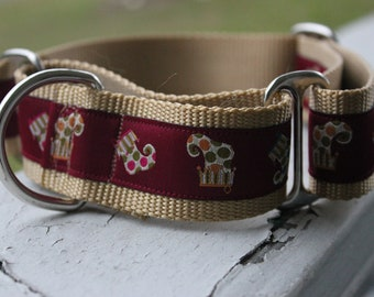 "The Christmas Stocking 1.5"" Martingale Collar"