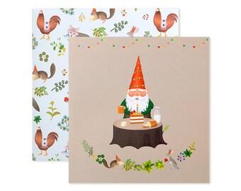 Gnome's Birthday Card