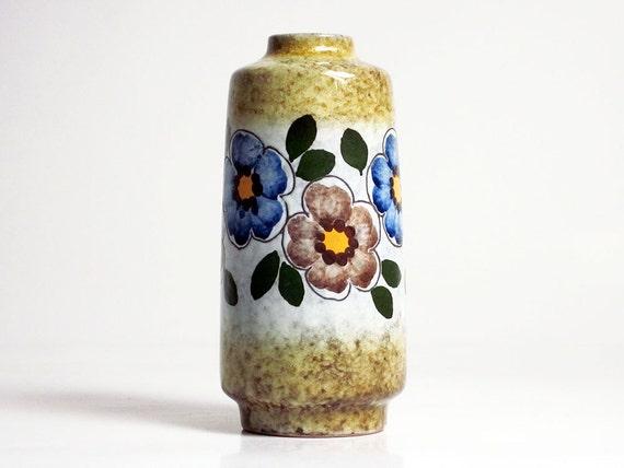 Mid century vase by VEB Haldensleben (East Germany, 3045C)
