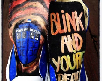Doctor Who Inspired shoes