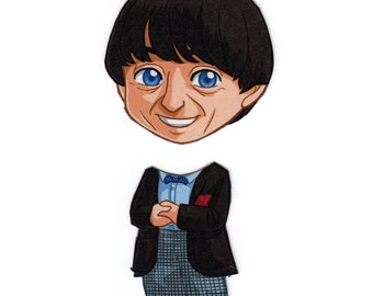 Mix and Match Magnets: Second Doctor (Doctor Who)
