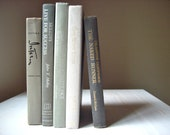 Vintage Books: Instant Shades of Grey Collection, 5 Books, Interior Design, Shabby Chic Decor